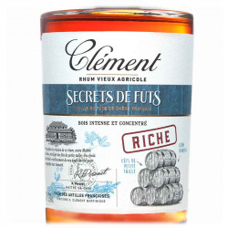 Secrets de Fûts Riche | Rhum Vieux Clément | Cadeau homme