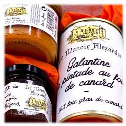 Panier Gourmand Du Terroir | Le Manoir Alexandre | Cadeaux Affaires