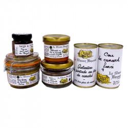 Panier Gourmand Du Terroir | Le Manoir Alexandre | Cadeaux Clients