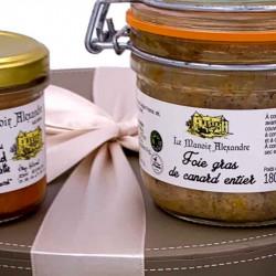 Coffret Gourmand Chic | Le Manoir Alexandre | Idées Cadeaux affaires