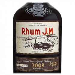J.M 2009 | Rhum Vieux 10 ANS | cadeau Client