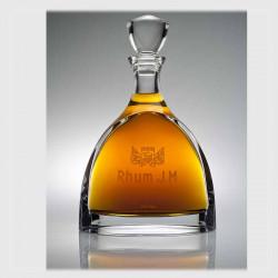 Rhum J.M   Carafe Cristal   cadeau Prestige client