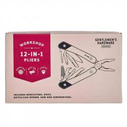 Pince Multi-Tool 12-En-1| Gentlemen's Hardware | Idées Cadeaux Homme