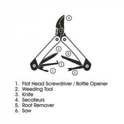 Outil Du Jardiner Multifonctions| Gentlemen's Hardware | Idées Cadeaux Femme