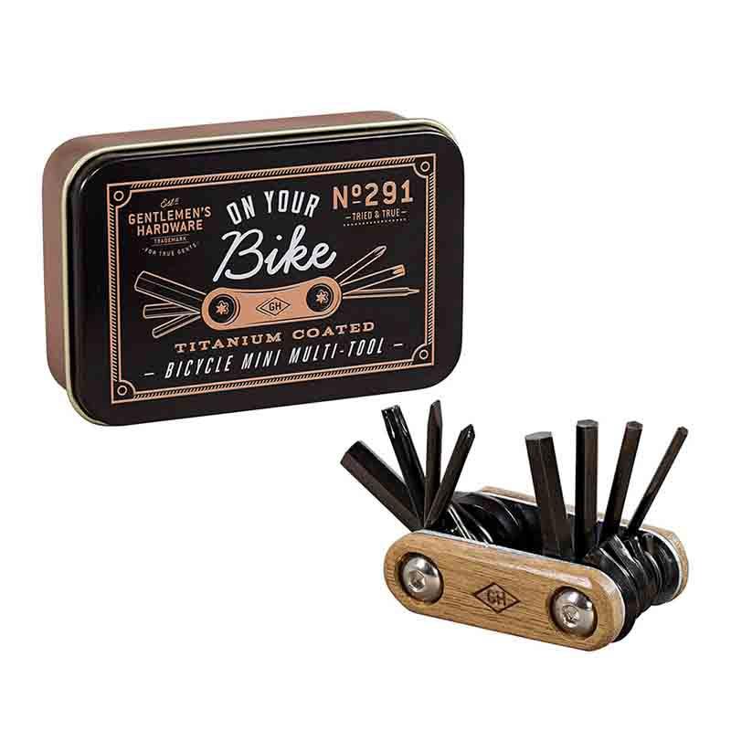 Multi-Tool Vélo De Poche  Gentlemen's Hardware   Idées Cadeaux