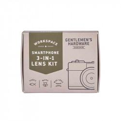 Kit Photo Smartphone 3-En-1| Gentlemen's Hardware | Idées Cadeaux pour LUi