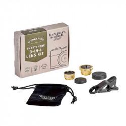 Kit Photo Smartphone 3-En-1| Gentlemen's Hardware | Idées Cadeaux Homme