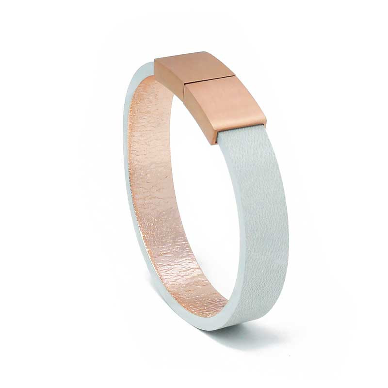 Bracelet Cuir Arctique | AIMI Studio | Idées Cadeaux Femme