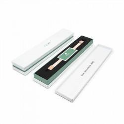 Bracelet Cuir Rose Pâle | AIMI Studio | Cadeaux Femme