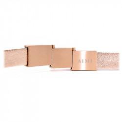 Bracelet Cuir Rubis   AIMI Studio    Cadeaux Pour Elle