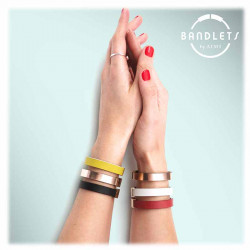 Bracelet Cuir Saphir | Ami Studio