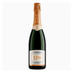 Champagne epc extra brut blanc de blanc