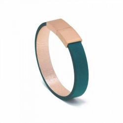 Bracelet Cuir Turquoise | AIMI Studio | Idées Cadeaux Femme