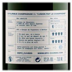 Champagne epc extra brut cadeaux clients affaires