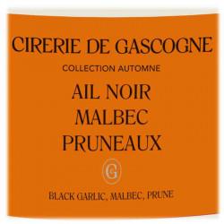 Bougie Ail Noir, Malbec & Pruneaux   La Cirerie De Gascogne   Idées Cadeaux  Femme