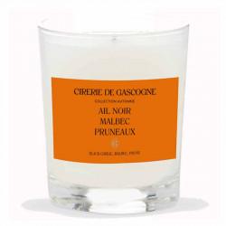 Bougie Parfumée   Ail Noir, Malbec & Pruneaux   Cirerie De Gascogne