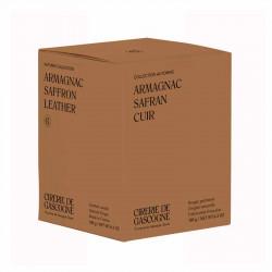 Bougie Armagnac, Safran & Cuir   La Cirerie De Gascogne   Idées Cadeaux Lifestyle