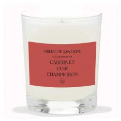 Bougie Cabernet, Cuir & Champignons | La Cirerie De Gascogne | Idées Cadeaux