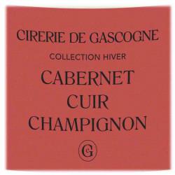 La Cirerie De Gascogne | Bougie Cabernet, Cuir & Champignons