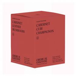 Bougie Cabernet, Cuir & Champignons | La Cirerie De Gascogne | Idées Cadeaux Maison
