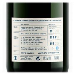 Champagne EPC millésimé 2015 | cadeau femme