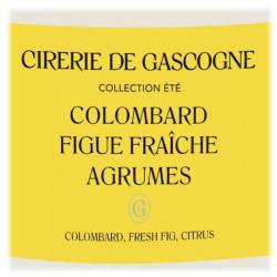 Bougie Colombard, Figue Fraîche & Agrumes | La Cirerie De Gascogne | Idées Cadeaux