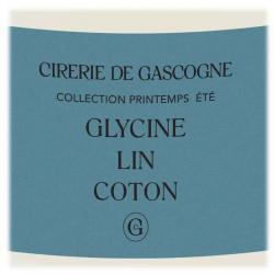 Cirerie De Gascogne | Bougie parfumée Glycine, Lin & Coton