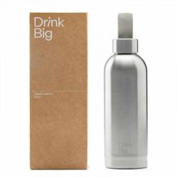Bouteille Classic Silver | Drink Big | Idées Cadeaux Lifestyle
