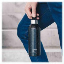 Bouteille Pattern Dark | Drink Big | idées Cadeaux
