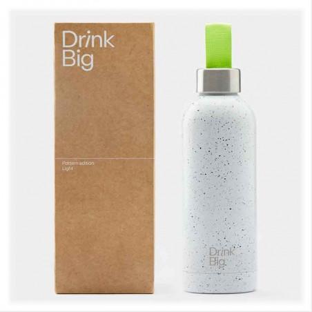 Drink Big   Bouteille Pattern Light  