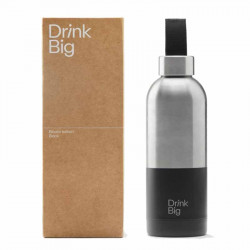 Bouteille Bicolor Black | Drink Big | Idées Cadeaux
