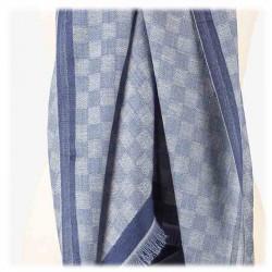 Châle Damasco Bleu | Del Carmen | Idées Cadeaux accessoires Femme