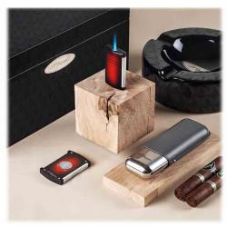 Maxijet Noir Mat | briquet DUPONT | Accessoires Cigares