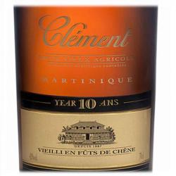 Rhum Vieux Clément 10 ans   cadeaux homme - Femme   clients
