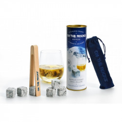 Glaçons Granit du Mont Blanc | ON THE ROCK | Coffret Cadeaux