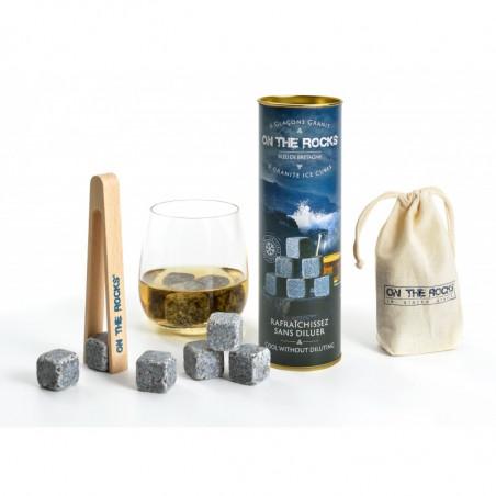 Glaçons Granit de Bretagne| ON THE ROCK | Coffret Cadeaux