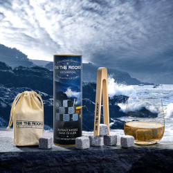 Glaçons Granit de Bretagne| ON THE ROCK | Cadeaux homme
