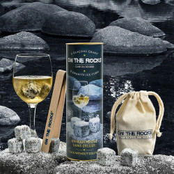 Glaçons Granit Sidobre   ON THE ROCK   Pierres à Whisky