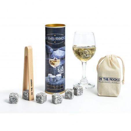 Glaçons Granit Sidobre   ON THE ROCK   Coffret Cadeaux