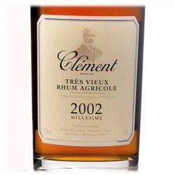 Rhum Vieux Clément Millésimé 2002 | cadeau Client