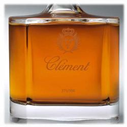 Rhum Vieux Clément Carafe Cristal   Cadeaux affaires