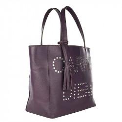 Cabas PARISIEN CARPE DIEM Purple | LOXWOOD  | Idées cadeaux Femme