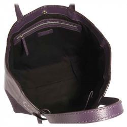 Cabas PARISIEN CARPE DIEM Purple | LOXWOOD  | cadeaux Femme