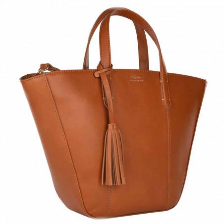 Cabas MABILLION Cognac | LOXWOOD | Cadeaux Sacs Femme