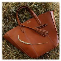 Cabas MABILLION Cognac   LOXWOOD   Cadeaux Femme