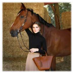 Cabas MABILLION Cognac | LOXWOOD | Sacs Femme