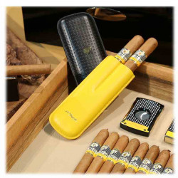 Etui 2 Cigares DUPONT | Edition Cohiba | Cadeau Homme