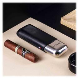 Etui 2 Cigares Noir | S.T. DUPONT | Idées Cadeaux Homme
