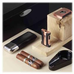 Etui 2 Cigares Noir | S.T. DUPONT | Idées Cadeaux Amateurs Cigares