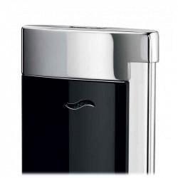 Briquet Slim 7 Noir et Chrome   S.T. DUPONT   Cadeaux Homme
